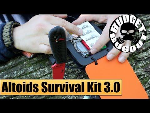 NEW: Altoids Survival Kit 3.0 -- Robust, Lightweight, Versatile, Budget-Friendly | Budget Bugout