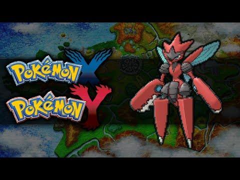 Pokemon X and Y | How To Get Mega Scizor