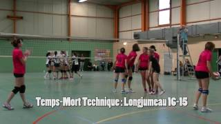 Equipe Féminine Volleyball : Paray Morangis vs Longjumeau