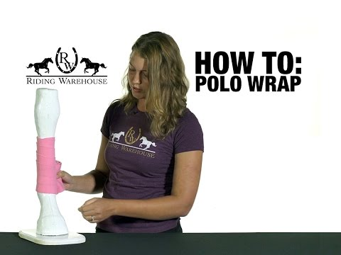 How To Correctly Polo Wrap Your Horse's Legs