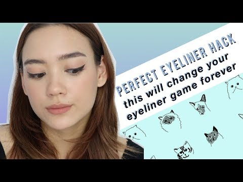 Eyeliner Hack: Perfectly Even Wings EVERY. SINGLE. TIME. | Aryanna Epperson