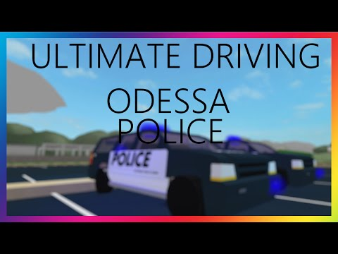 ROBLOX - Ultimate Driving Odessa Police - PlayItHub Largest