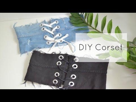 DIY Corset   Easy & Quick!