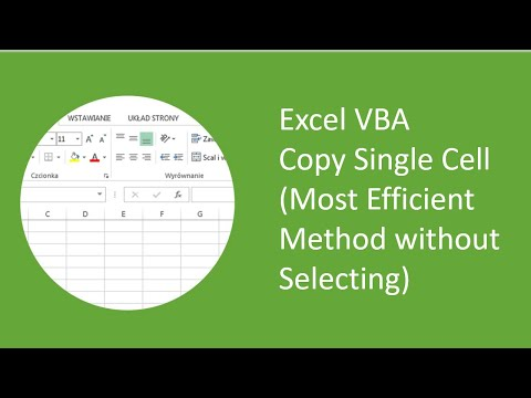Excel VBA - Copy Single Cell (Most Efficient Method without Selecting)