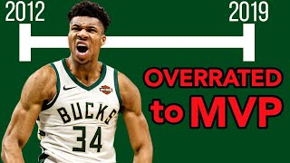 Timeline of the Bucks and Giannis's Rebuild