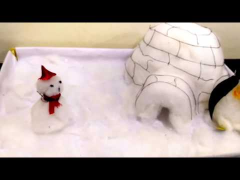 School Project Igloo/ How to make Igloo house