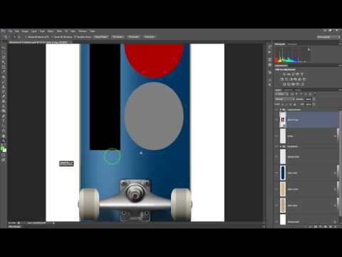 How to Create a Custom Skateboard in Photoshop CS6