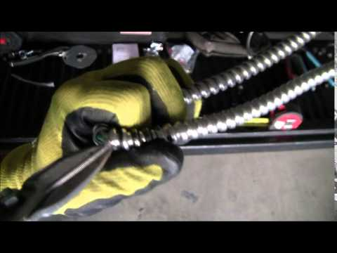 How to Install Flexible Conduit, MC Flex, MC Lite