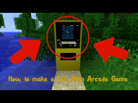 How To Make A Pac-Man Arcade Game!
