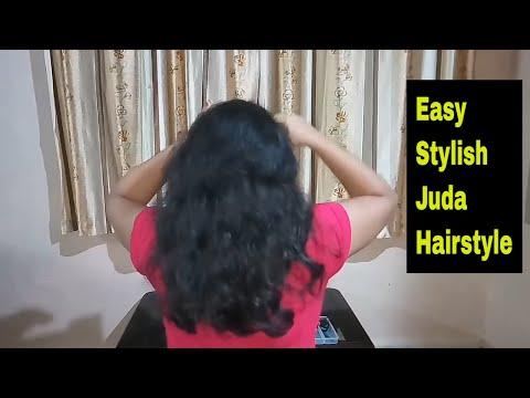 Quick and Easy Hairstyle || Voluminous Bun/Juda Hairstyle|| New Easy Juda Hairstyle||Hairstyle 2018