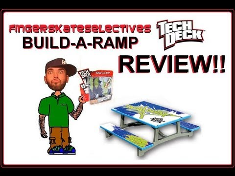 Teck Deck Build-A-Ramp (Picnic Table) Review!