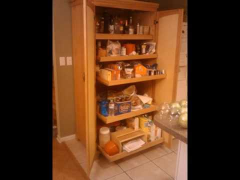 Remarkable Free Standing Kitchen Pantry