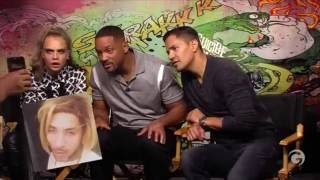 Suicide Squad Cast Funny Moments Part 2