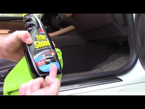 Cleaning & Protecting Car Door Seals