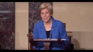 Watch as Senate silences Elizabeth Warren after attacks on Attorney General nominee Jeff Sessions