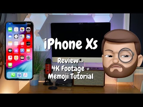 iPhone Xs Review, 4K HD Footage & Memoji Setup Overview