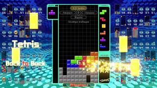 [Tetris 99] sniping amemiyataiyou (あめみやたいよう): game 6 (15-05-2019)