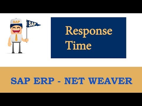 ERP SAP Basis - Net Weaver | Response time -  (Performance Tuning) Part - 2 |