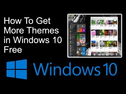 How To Get More Themes in Windows 10 Free
