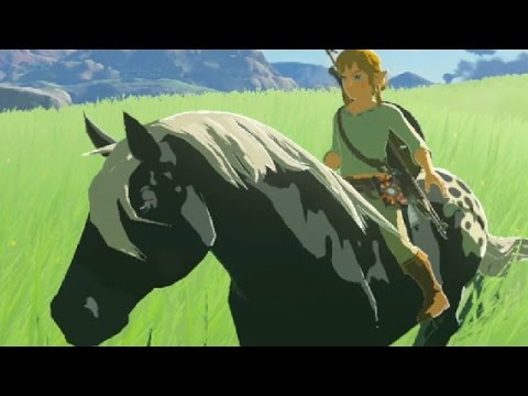 Taming Wild Horses │ Zelda Nintendo Switch Preview │ ProJared Plays!