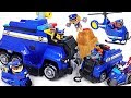 Paw Patrol Ultimate Rescue Police Cruiser Defeat The Villain Minions And The Tank DuDuPopTOY