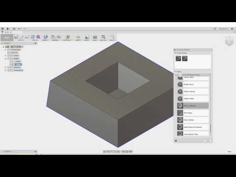 Fusion 360 Physical Materials, Mass, and Volume!
