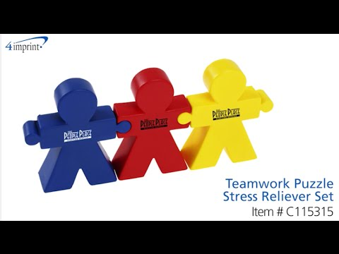 Teamwork Puzzle Stress Reliever Set - Promotional Products