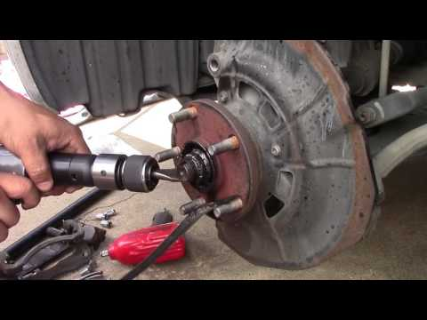 2010 Toyota Camry - Wheel Bearing Replacement