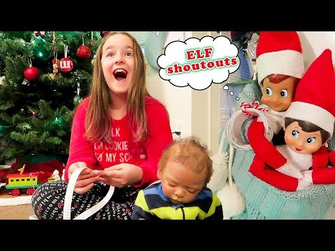 Elf on the Shelf Shoutouts! Elves Give Your Elf on the Shelf Elfs Shout Outs
