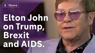Elton John interview: My fan Trump could be the President who stops AIDS