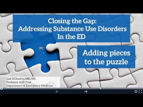 Closing the Gap: Addressing Substance Use Disorders in the ED