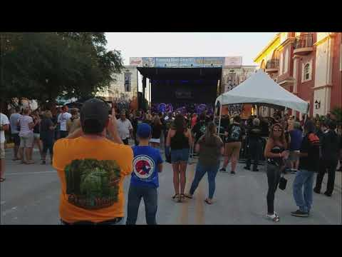 Cape Coral Bike Night October 2018 Walk Around and Band Set Up