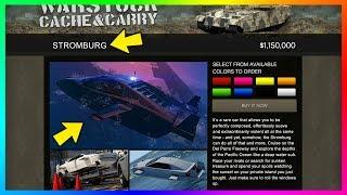 GTA Online The Doomsday Heist DLC NEW Details - Stromburg Submarine Car, Akula Info & MORE! (GTA 5)