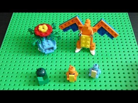 Lego Pokemon + Instructions Part 19 - Kanto Starters Revisited