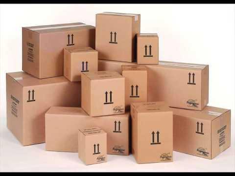 Long Cardboard Boxes Packaging Design