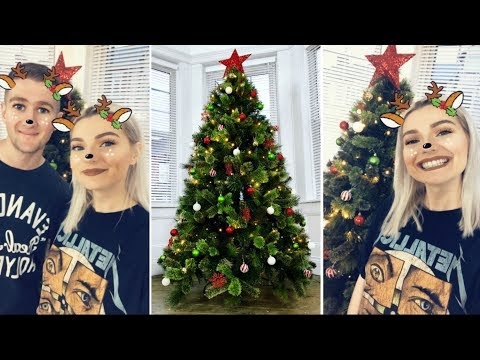 PUTTING UP OUR FIRST CHRISTMAS TREE | LoveFings