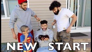 MY FAMILY CUT MY HAIR!!! *new start*