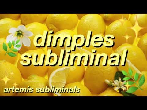 get deep dimples {forced}💫   artemis subliminals