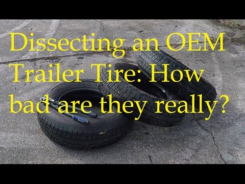 New trailer? Should you change the tires? Watch this to help you decide.