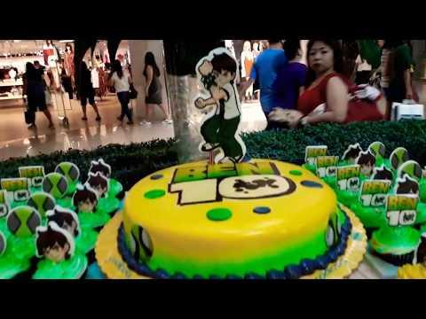 Ben 10 cakes and cupcakes/ Deluxe Omnitrix cake