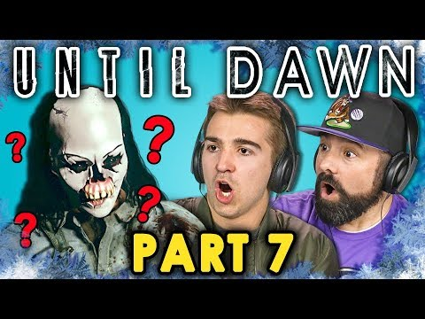 KILLING FOR LOVE! | UNTIL DAWN - Part 7 (React: Let's Plays)