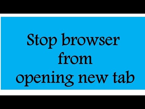 Stop browser from opening new tab [SOLVED]