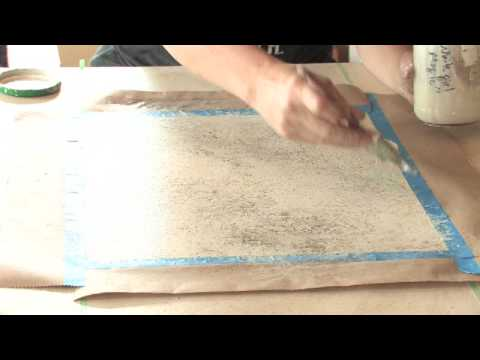 Decorative Painting Techniques : How to Faux Paint Granite