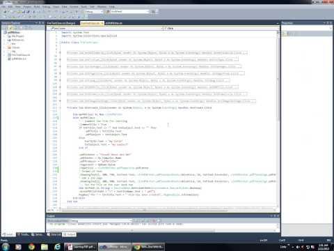 Visual Basic Tutorial: How to Create a PDF File