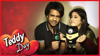Lakhan Gives Poonam A Teddy | Teddy Day | Valentine's Week Special
