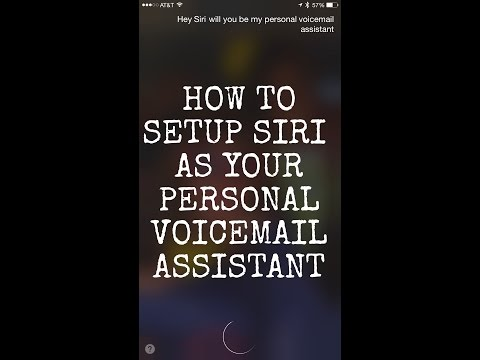 How to setup Siri as your voicemail assistant