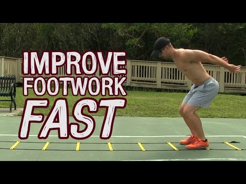 Increase Speed & Vertical Leap - Agility Ladder Drills for Volleyball
