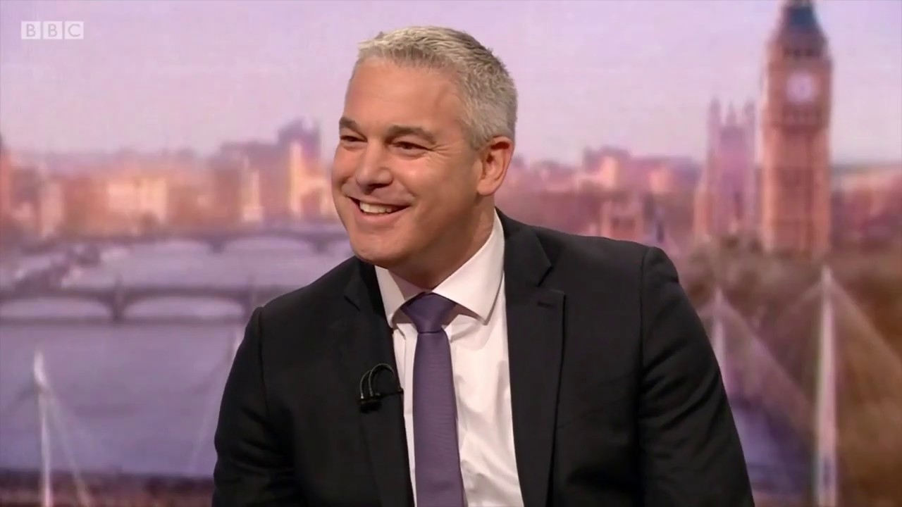 Steve Barclay MP on The Andrew Marr Show