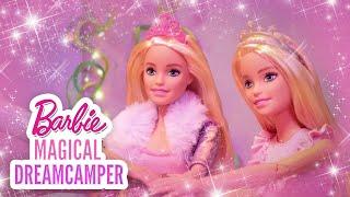 SING ALONG! BARBIE TEACHES 👑 PRINCESS AMELIA HOW TO DANCE 🎶✨ | Barbie Magical DreamCamper | @Barbie