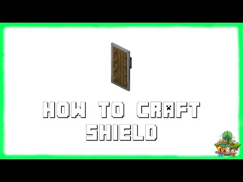 Minecraft 1.12.2: How to Craft Shields! | Recipe Tutorial for Minecraft 1.12.2 | 2018